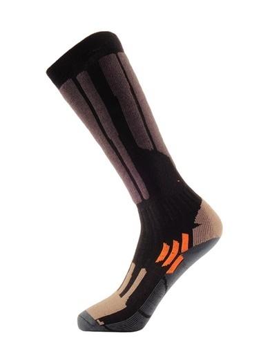 Panthzer Panthzer Ski Socks Erkek Kayak Çorap Siyah